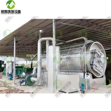 Automatic Waste Plastic to Diesel Oil Machine
